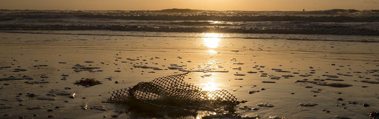 pauline van den broeke plastic op strand