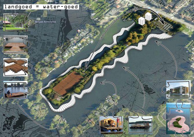 referentiebeeld Lommerrijk landgoed is watergoed