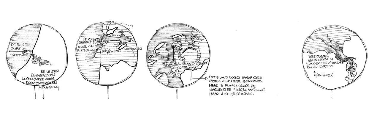 Pauline van den Broeke tijdlijn Antropogene kustatlas deel 2