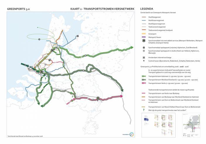 Pauline van den Broeke kaart 2 transportstromen versnetwerk