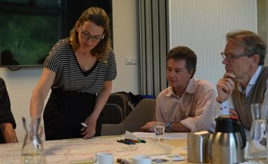 Pauline van den Broeke ontwerptafel Haarlem Randweg Zeeweg